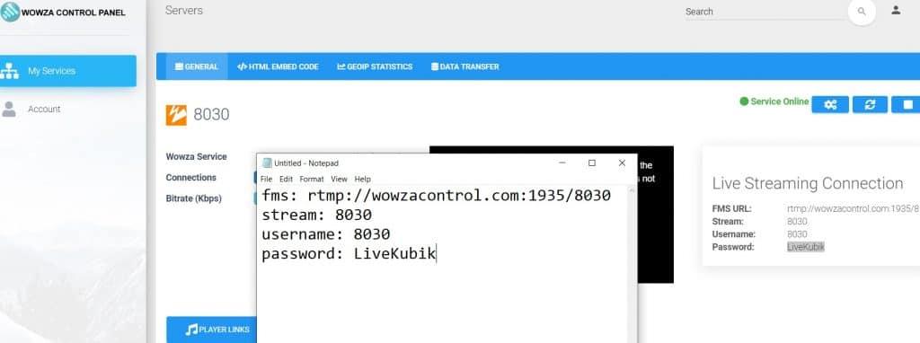 rtmp server fms url